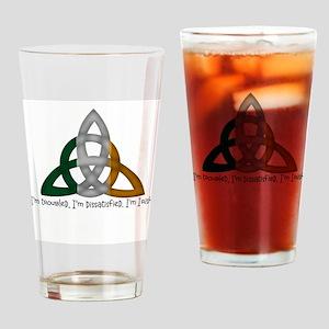 imtroubledwhite Drinking Glass