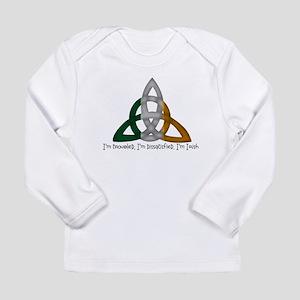 imtroubledwhite Long Sleeve Infant T-Shirt