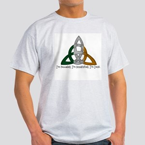 imtroubledwhite.png Light T-Shirt