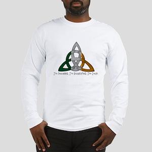imtroubledwhite Long Sleeve T-Shirt