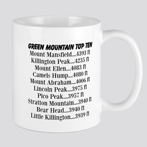 Green Mountain Top Ten Mug