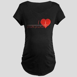 Private practice Maternity Dark T-Shirt