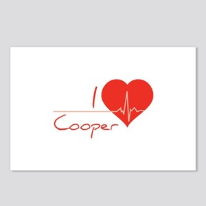 I love Cooper Postcards (Package of 8)