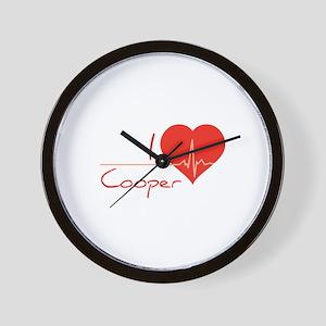 I love Cooper Wall Clock