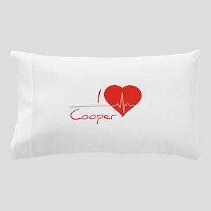I love Cooper Pillow Case