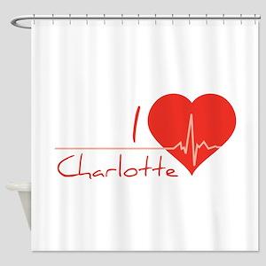 I love Charlotte Shower Curtain