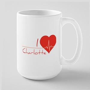 I love Charlotte Large Mug