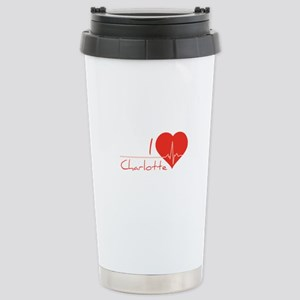 I love Charlotte Stainless Steel Travel Mug