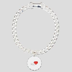 I love Mason Charm Bracelet, One Charm