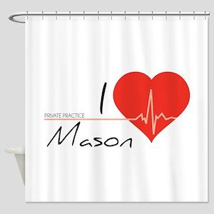 I love Mason Shower Curtain