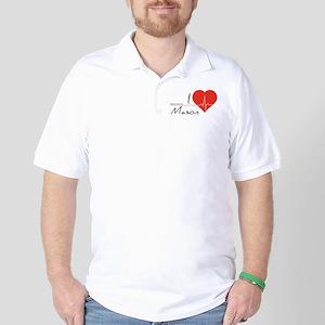 I love Mason Golf Shirt