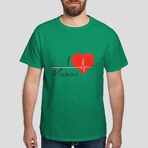 I love Mason Dark T-Shirt