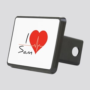 I love Sam Rectangular Hitch Cover
