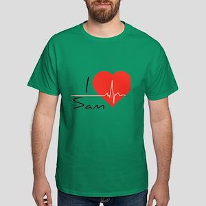 I love Sam Dark T-Shirt