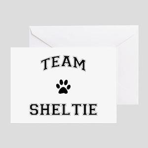 Team Sheltie Greeting Card