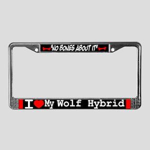 NB_Wolf Hybrid License Plate Frame