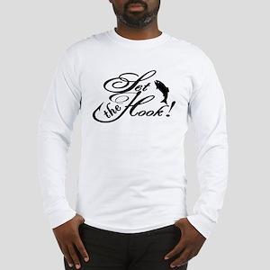 Set the Hook Fishing Fashion! Long Sleeve T-Shirt