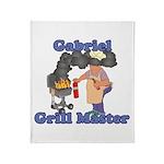 Grill Master Gabriel Throw Blanket