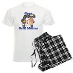 Grill Master Gary Men's Light Pajamas