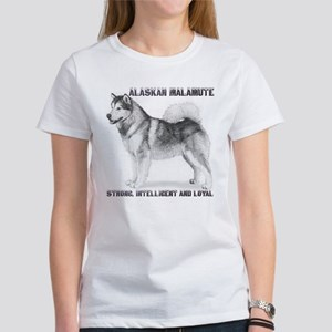 """Malamute Strength"" Women's T-Shirt"