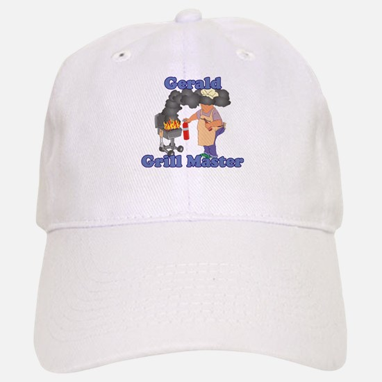 Grill Master Gerald Baseball Baseball Cap
