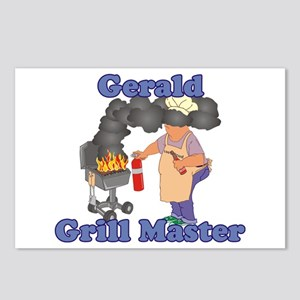 Grill Master Gerald Postcards (Package of 8)