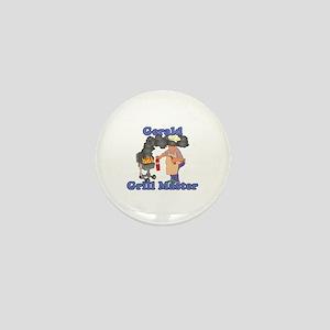 Grill Master Gerald Mini Button