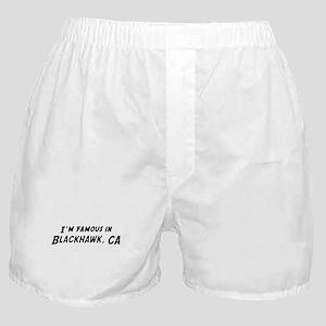 Famous in Blackhawk Boxer Shorts