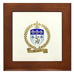 GUEGUEN Family Crest Framed Tile