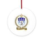 GUEGUEN Family Crest Ornament (Round)