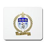 GUEGUEN Family Crest Mousepad