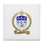 GUEGUEN Family Crest Tile Coaster