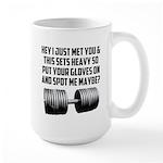 Spot me maybe Large Mug