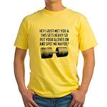Spot me maybe Yellow T-Shirt