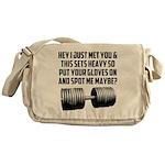 Spot me maybe Messenger Bag