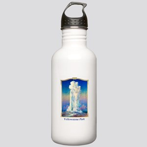 Yellowstone Travel Poster 1 Stainless Water Bottle