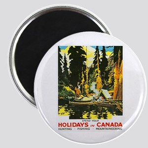Canada Travel Poster 9 Magnet