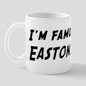 Famous in Easton Mug