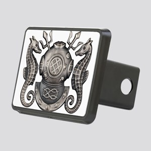 Master Navy Diver Rectangular Hitch Cover
