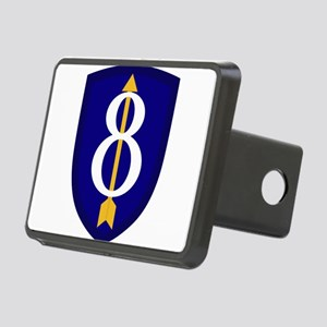 8th Infantry Rectangular Hitch Cover