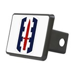 120th Infantry Bde Rectangular Hitch Cover