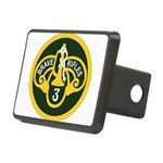 3rd Armored Cavalry Rectangular Hitch Cover