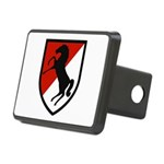 11th Armored Cavalry Rectangular Hitch Cover