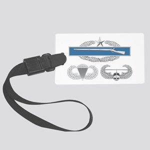 CIB 2nd Airborne Air Assault Large Luggage Tag