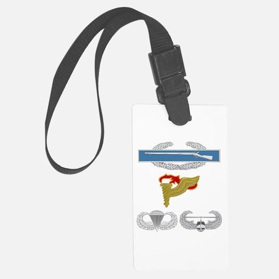 CIB Pathfinder Airborne Air Assa Luggage Tag