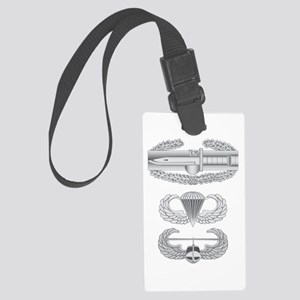 CAB Airborne Air Assault Large Luggage Tag