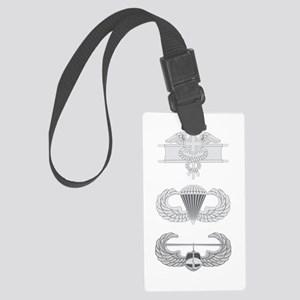 EFMB Airborne Air Assault Large Luggage Tag