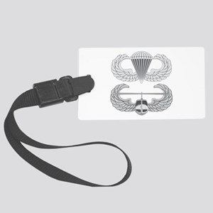 Airborne Air Assault Large Luggage Tag