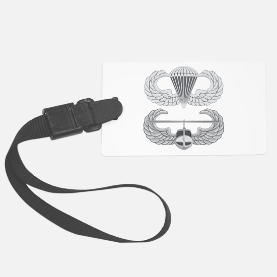 Airborne Air Assault Luggage Tag