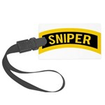 Sniper Large Luggage Tag